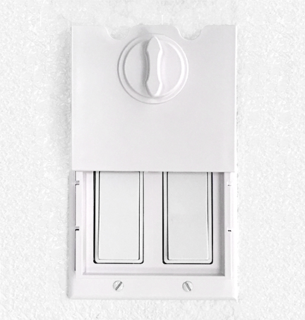Value Pack: 6 HomeStar Baby Light Switch Guards - White