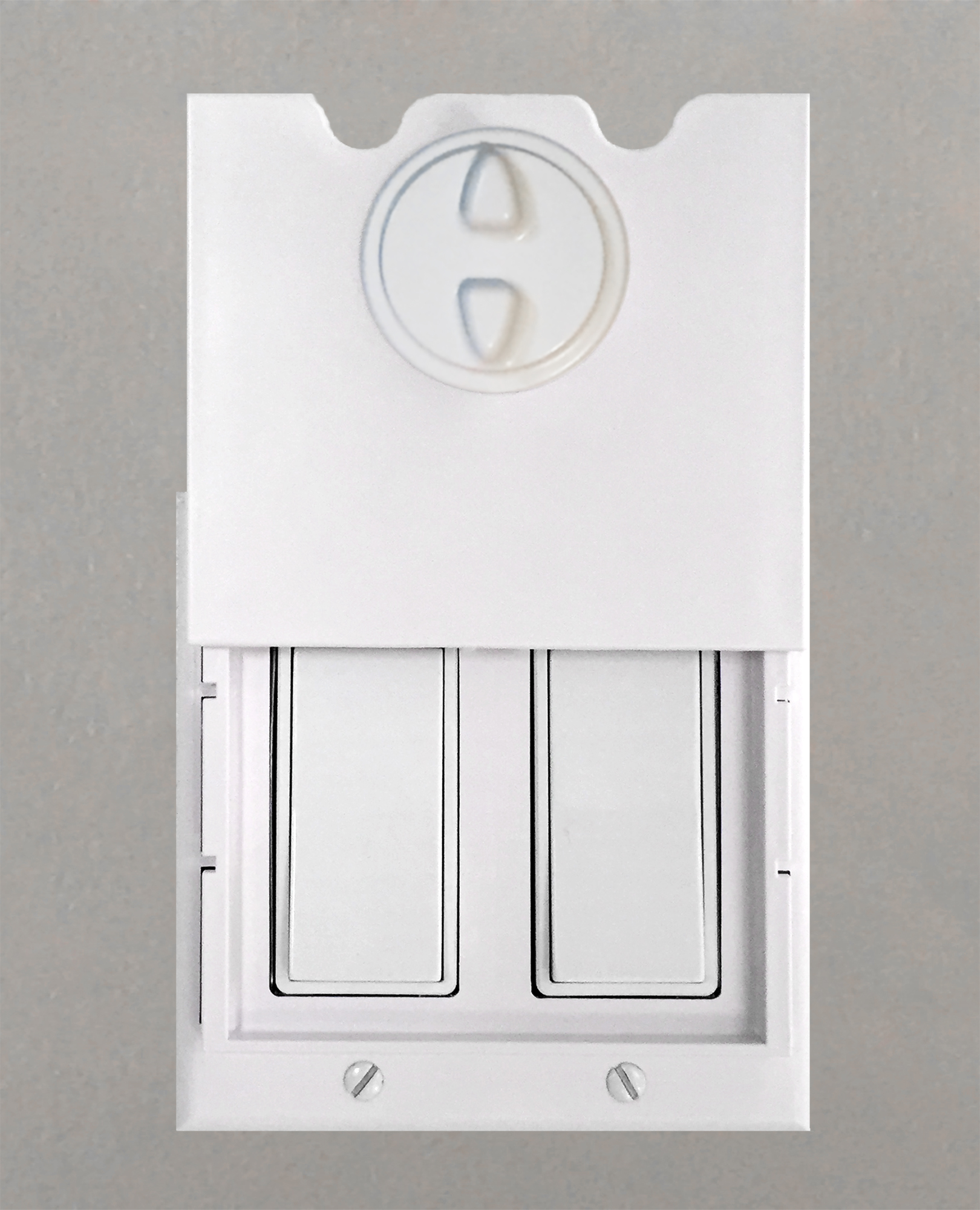 Value Pack: 4 HomeStar Safety Light Switch Guards - White
