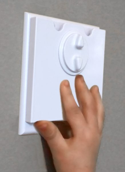 Value Pack: 5 HomeStar Safety Light Switch Guards - White