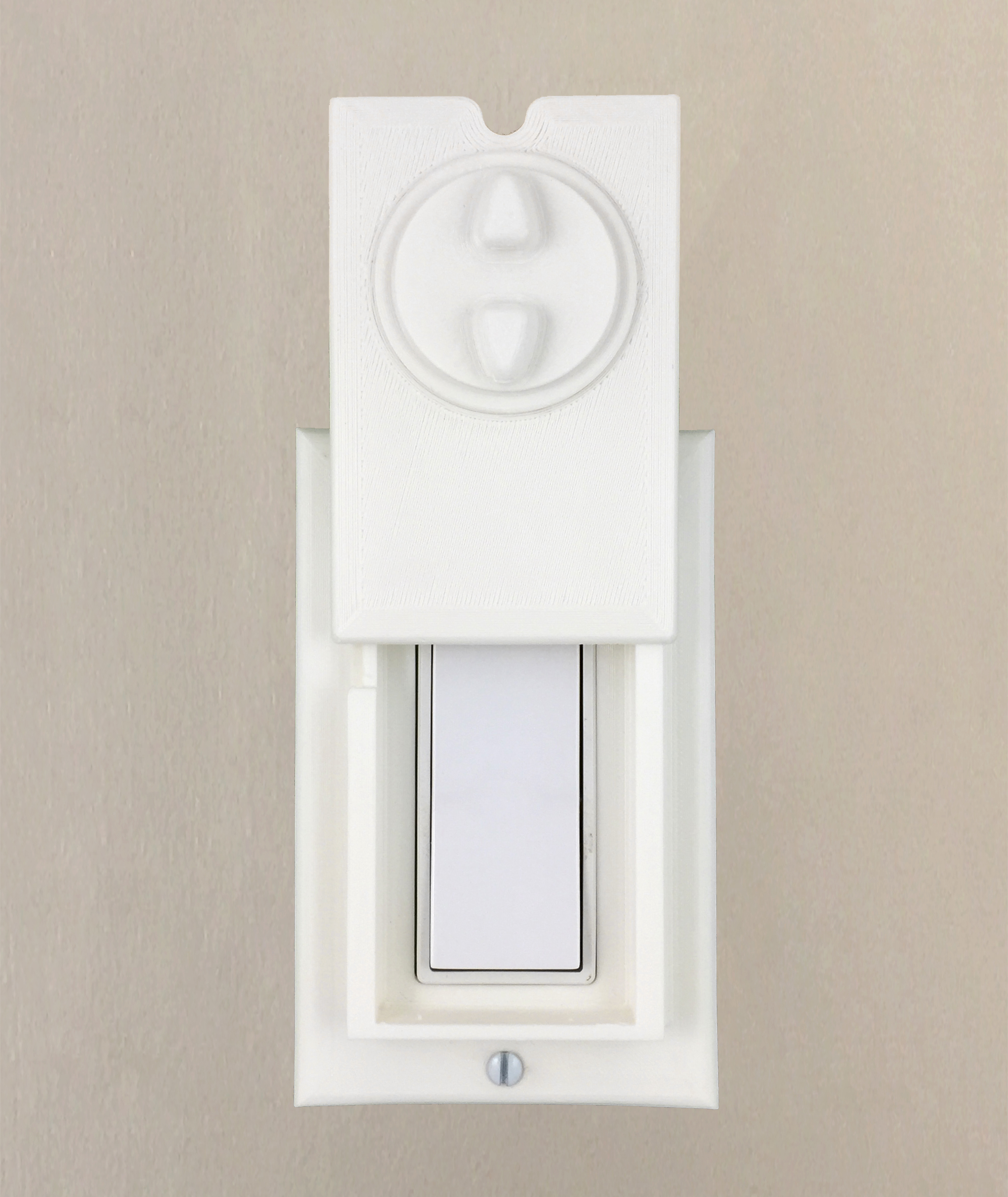 HomeStar Safety Light Switch Guard for Single Switch (Prototype)