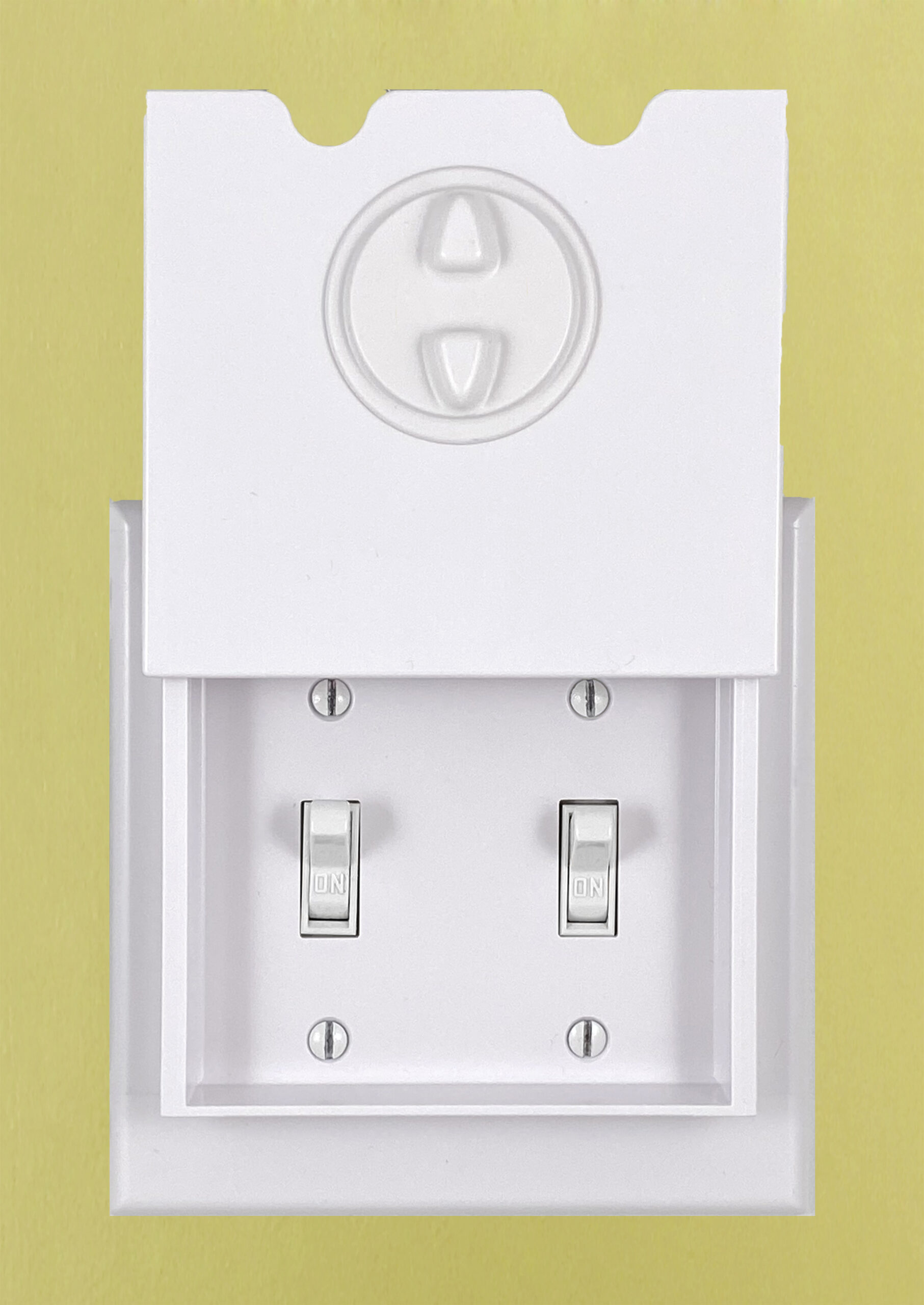 HomeStar Safety Light Switch Guard for Double Toggle Switches